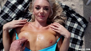 Absolutely gorgeous Molly Mae gets boned on the beach