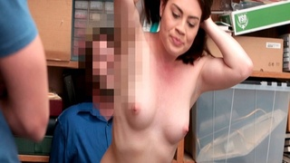 Veronica Vega ride the LP Officers cock