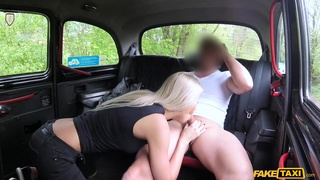 Thomas Hyka stretches blonde's cunthole with his fat cock