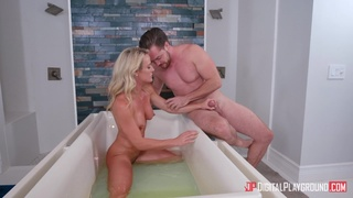 Hot mature takes energized dick in the most intense XXX play