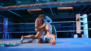 Cat fight shows naked bitches getting pretty slutty