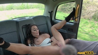 Another fake taxi fuck happens, this time for sexy Christina May