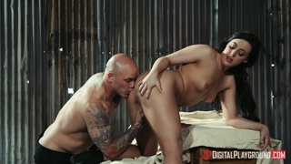 Sweet doll loves the intensity of this merciless cock