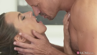 Nice pussy and ass Mea Melone gives head and gets fucked from behind