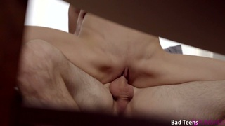 Graduate student Jillian Janson is fucked and spanked by horny stepdaddy