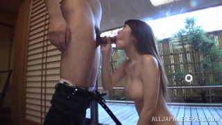 Video of sexy Japanese girl Chisa Hoshino getting fucked in doggy