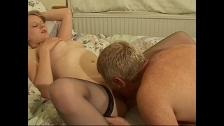 Gorgeous babe Shel gets her cunt smashed in different positions