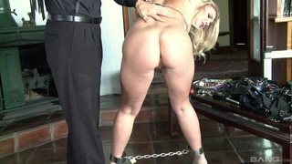 Dominant hubby loves torturing and spanking his sexy wife Zoey Taylor