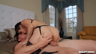 Wild fucking all over the place with cock hungry model Vanessa Sky