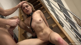Girlfriend Scarlett Knight loves being tied up and rough fucked