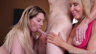 Wild whore with huge ass Erica Lauren is so into riding strong cock