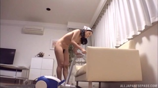 Breast sucking and deep dick entry please Japanese maid