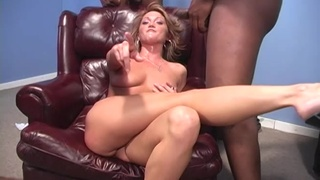 Black dudes show this wife proper anal orgasms