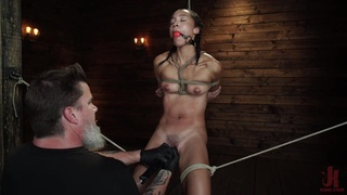 Gagged and spanked while being stranded, what an amazing experience
