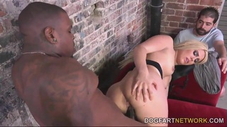 Cuckold Watch Wife Takes First Big Black Penis - Brooke summers