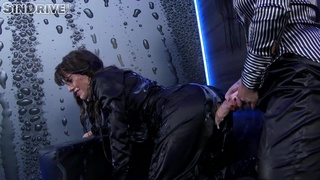 Wet dirty lesbian moments with two hot pussy-famished ladies