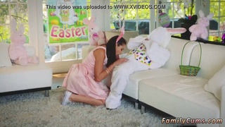 Teen braids first time Uncle Fuck Bunny