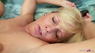 Horny mummy catch jack and bang by own step son