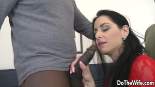 Do The Wife - Serving a Black Bull Orally in Front of Her Cuck Compilation