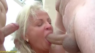 first double penetration for mom