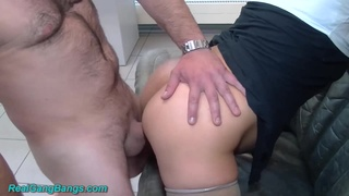 gangbang in the ninth month of pregnancy