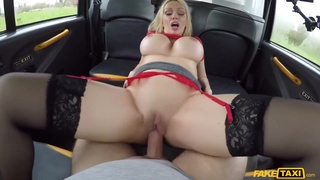 Cab Driver Gets Pov From Busty Milf Fucks Her - Amber Jayne