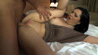 Fine brunette gets laid with the ship's captain
