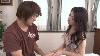 Asian cuckold watches his hot Japanese wife get done right