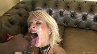 BBC hardcore in DP anal for a hot mature