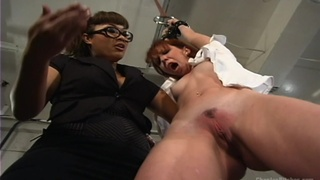 Tied up DragonLily tortured by dominant Trinity Post in HD video