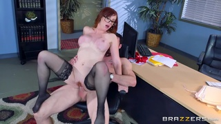 Great hard sex for the female boss in scenes of crazy XXX