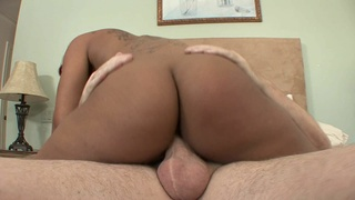 Stepfather Gets Fucked By Ebony Stepdaughter