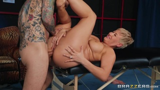 A hot curvy mom gets her fat juicy booty banged harder than ever