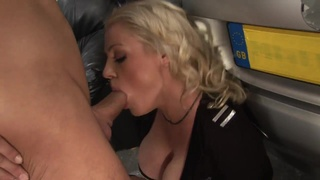 Nasty police woman deeply penetrated in various poses