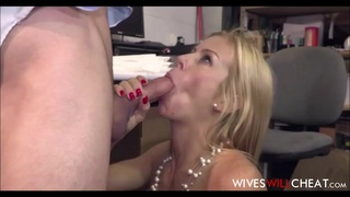 Hot Babe Big Knockers Cheating Wife Alexis Fawx Procreation With New Hire