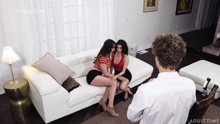 Darcie Dolce And Lexi Luna Girl On Girl - ass licking with busty brunettes