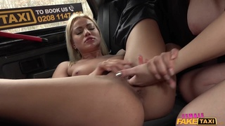 Female Fake Taxi - Backseat Orgasm Lessons 2 - Marry Morrgan