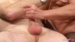 74yr-old-german-granny-and-grandpa-first-time-porn - Mature