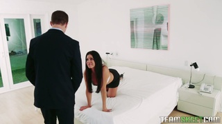 It isn't hard to tell that India Summer is a sex crazed cougar