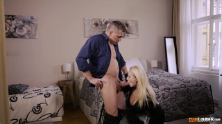 Kimber Woods works as a maid and finds time to fully impress the boss