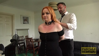 Obedient slut gets what she deserves for being a naughty whore