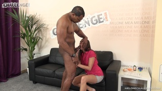 Milf fucks on the casting couch by a black thug